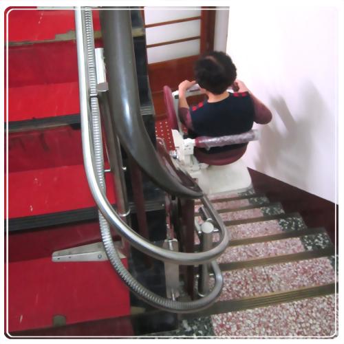 騰城樓梯升降椅-苗栗謝家