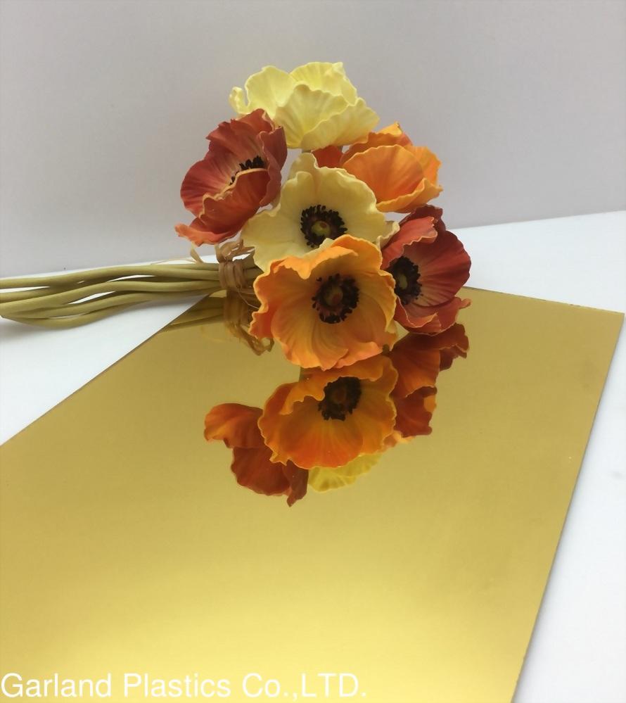 Acrylic金色鏡板