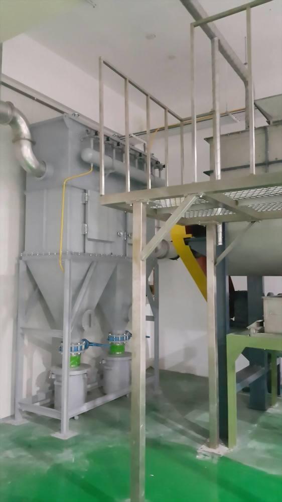 脈衝式袋濾集塵機