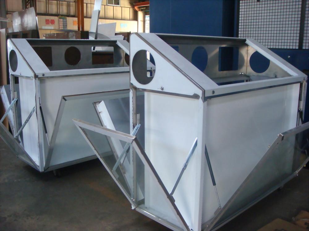 白鐵太陽能桶