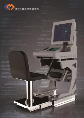 單螢幕船舶用操控台