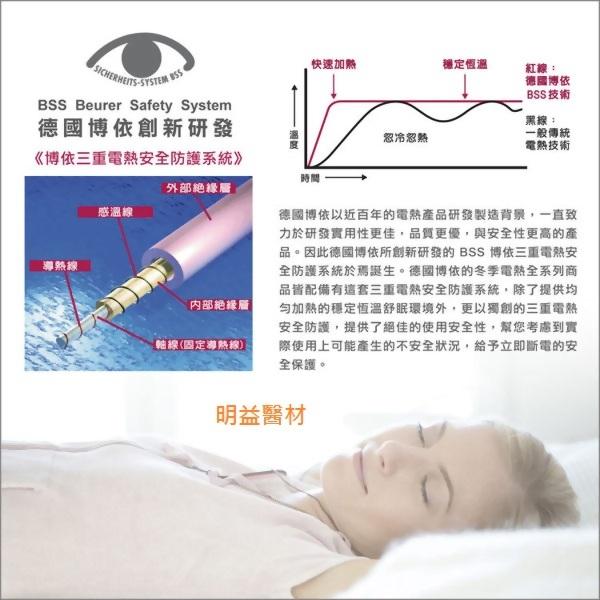 博國博依床墊型電熱毯(單人定時型)