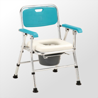 日式鋁合金收合便器椅