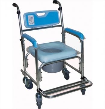 鋁合金固定式洗澡便器椅