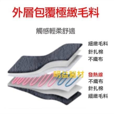 三樂事LCD熱敷柔毛墊(大)