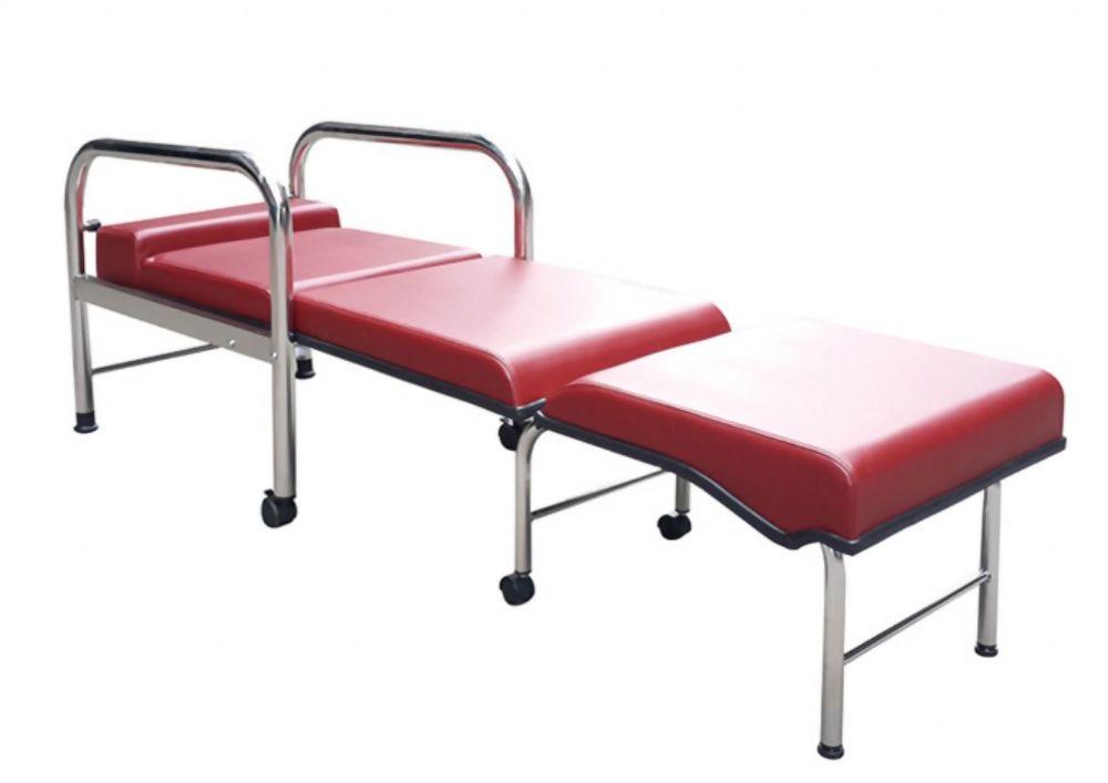坐臥兩用防伴床椅(不銹鋼)