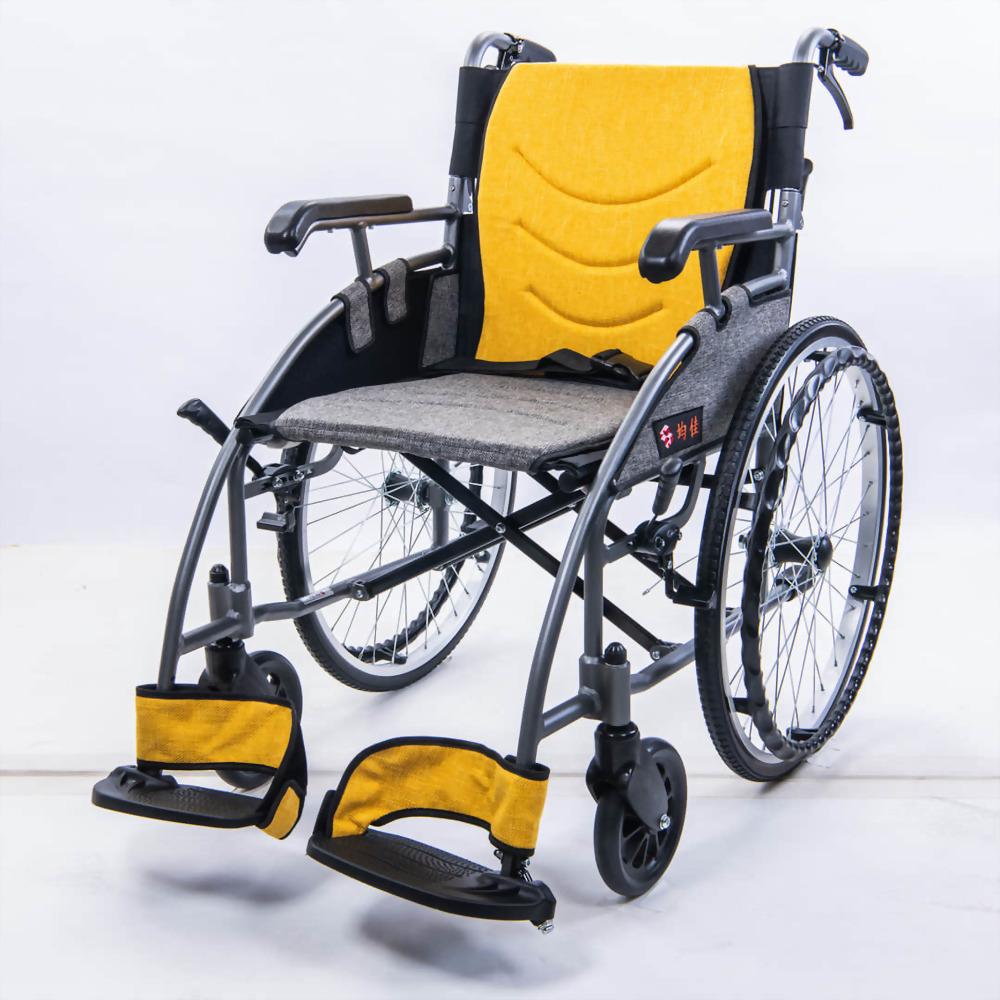 鋁合金流線型輪椅.. 便利型