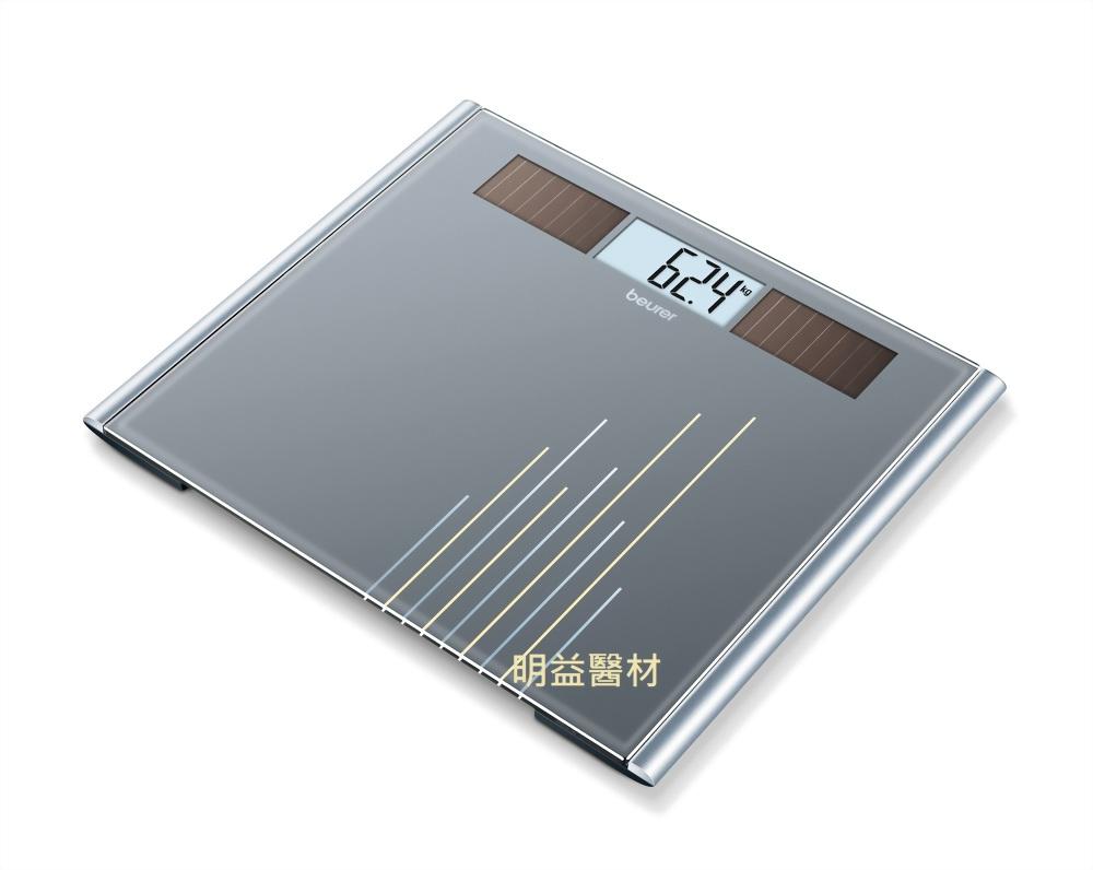 德國博依環保太陽能玻璃體重計