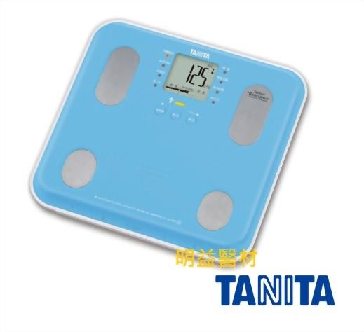 TANITA自動顯示功能九合一體組成計(藍)