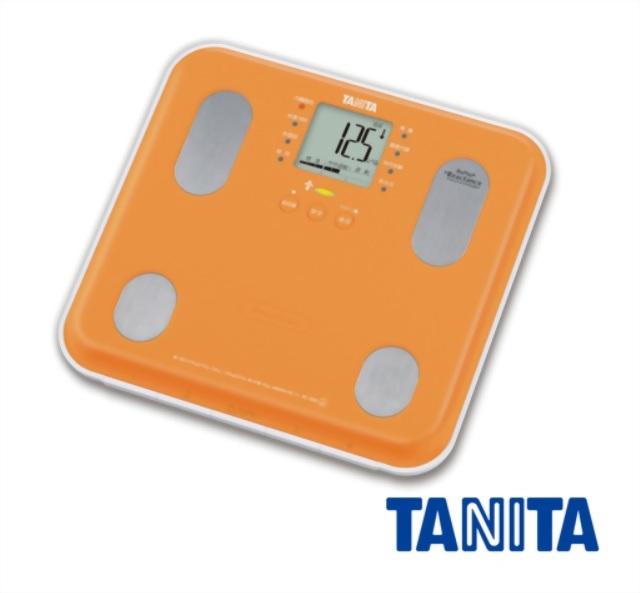 TANITA BC565-OR 自動顯示功能九合一體組成計 (橘)