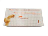 PVC手套(無粉)100入/盒 L
