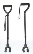 碳纖維拐杖-四腳拐