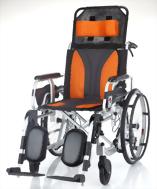 鋁合金躺式輪椅