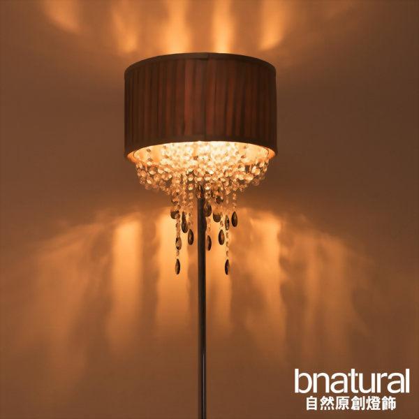 bnatural 鉻色金屬立燈(BNL00003)