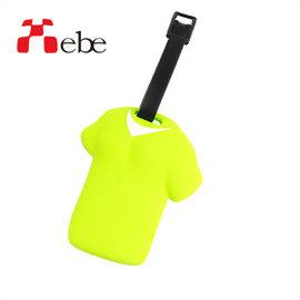 Xebe集比 出國旅行 T恤造型文創設計 行李吊牌(綠色)