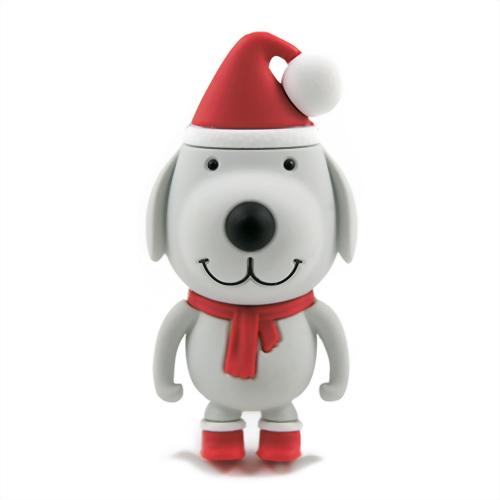 Xebe集比 8G 聖誕狗造型USB隨身碟