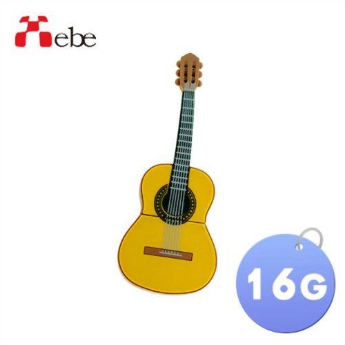 Xebe集比 16G 吉他造型隨身碟