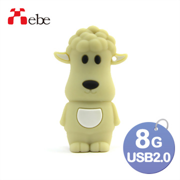 Xebe集比 8G 羊咩咩造型USB隨身碟