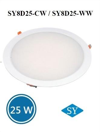 LED草帽型崁燈-25W