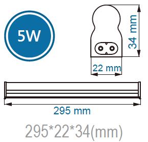 T5 LED Batten Light