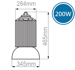 LED高空天井燈