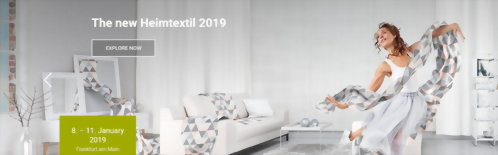 2019 Heimtextil Frankfurt Home Textiles Fair | LOVETEX Hook and Loop