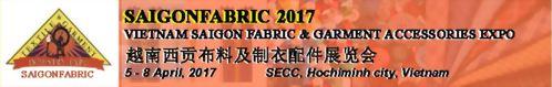 2017年越南西貢布料及製衣配件展(Vietnam Saigon Fabric & Garment Accessories EXPO)