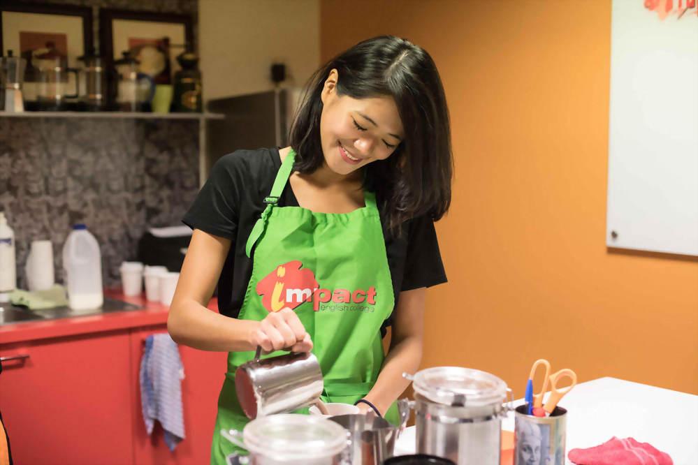 英語課程+咖啡師培訓課程+咖啡達人實習課程