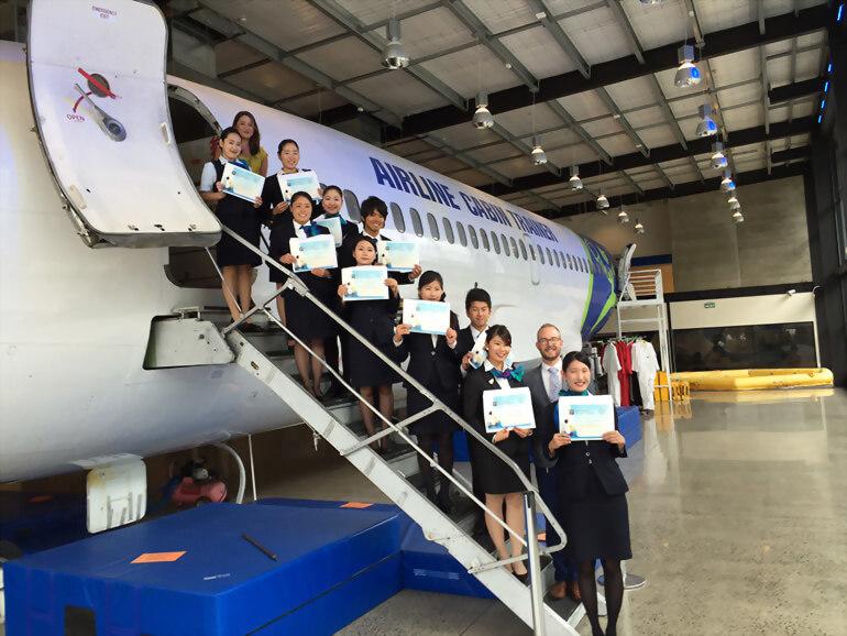 8週英語課程+14週空服員培訓課程 (English plus Flight Attendant)