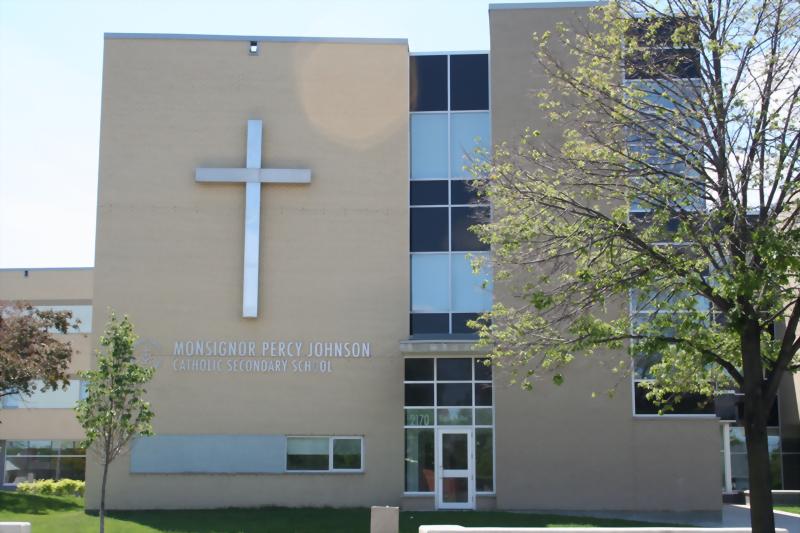 Monsignor Percy Johnson Catholic Secondary School 佩西約翰遜中學
