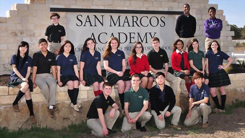 San Marcos Baptist Academy 聖馬克斯中學