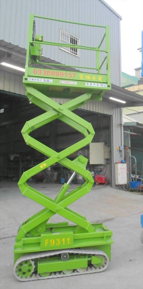 3.8米剪刀式高空作業車