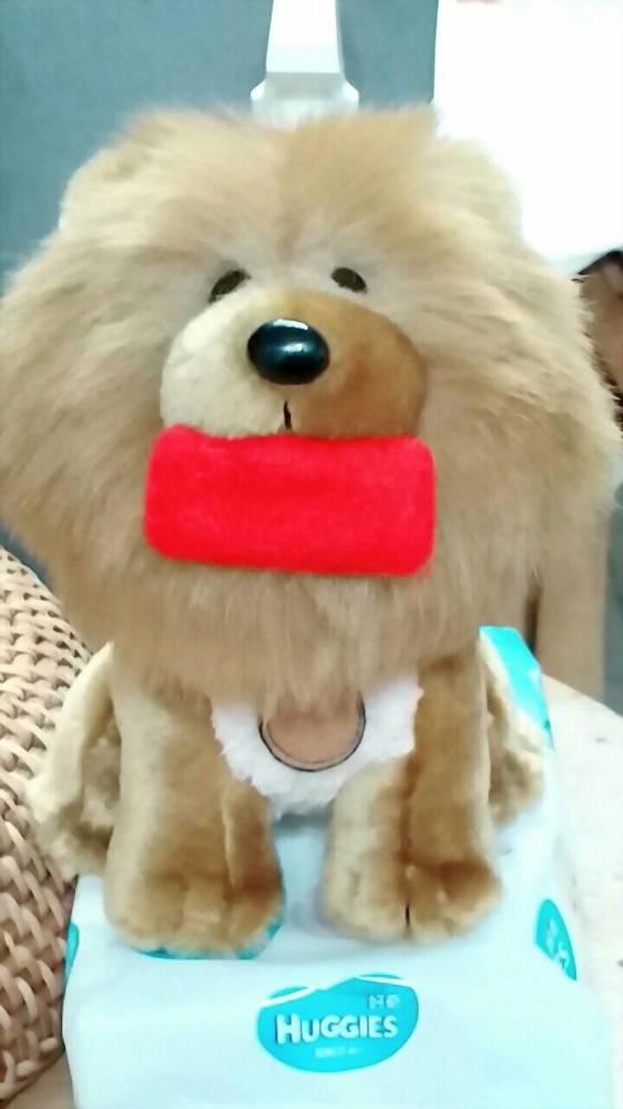 絨毛娃娃 | 鬆獅犬(富邦銀行) 1