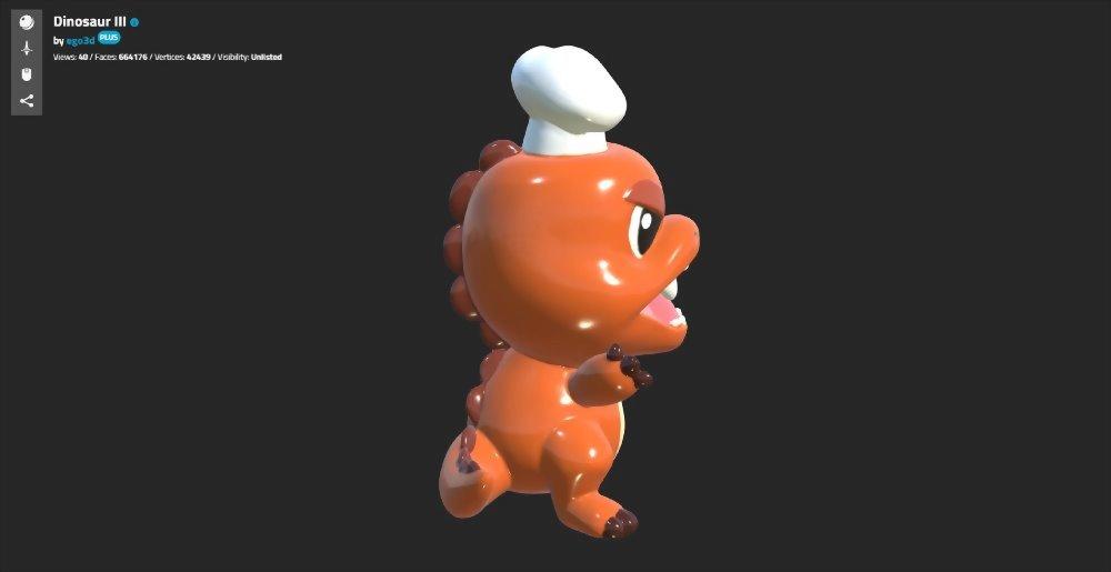 3D掃描/3D建模-法歐米 麵包工坊 6