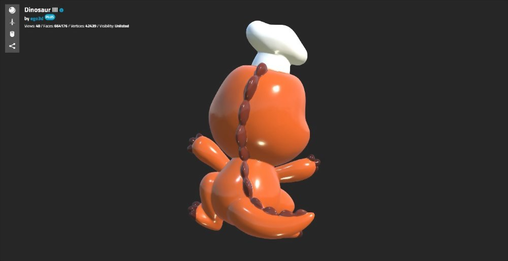3D掃描/3D建模-法歐米 麵包工坊 8