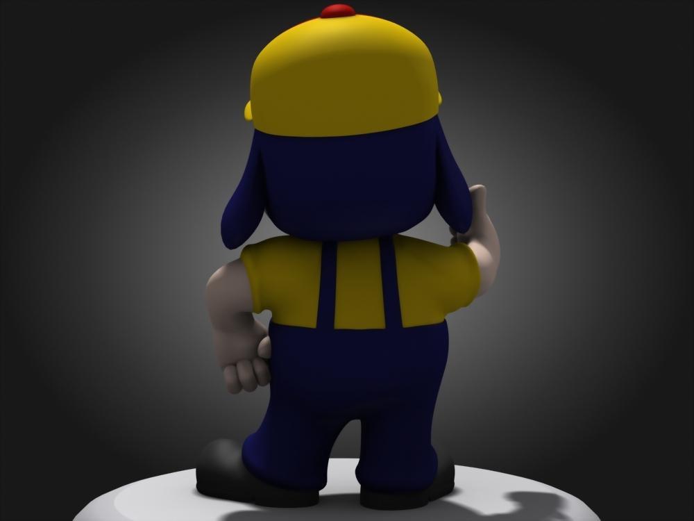3D建模-中油寶寶 3