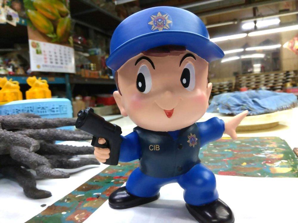 Q版公仔-刑事警察 1