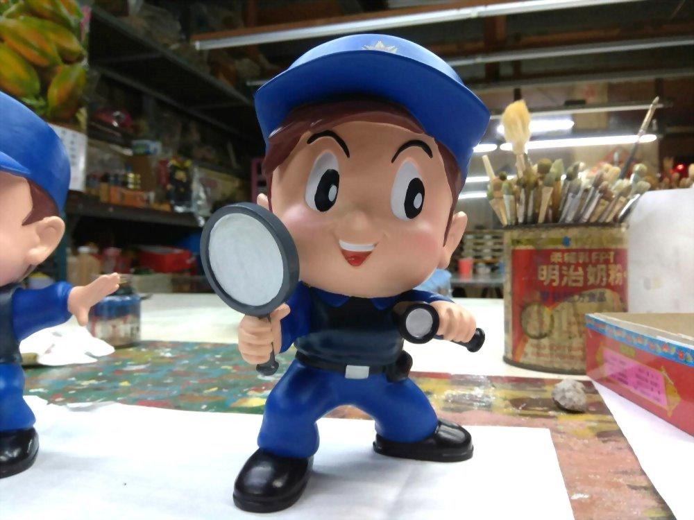 Q phiên bản búp bê - cảnh sát hình sự 2