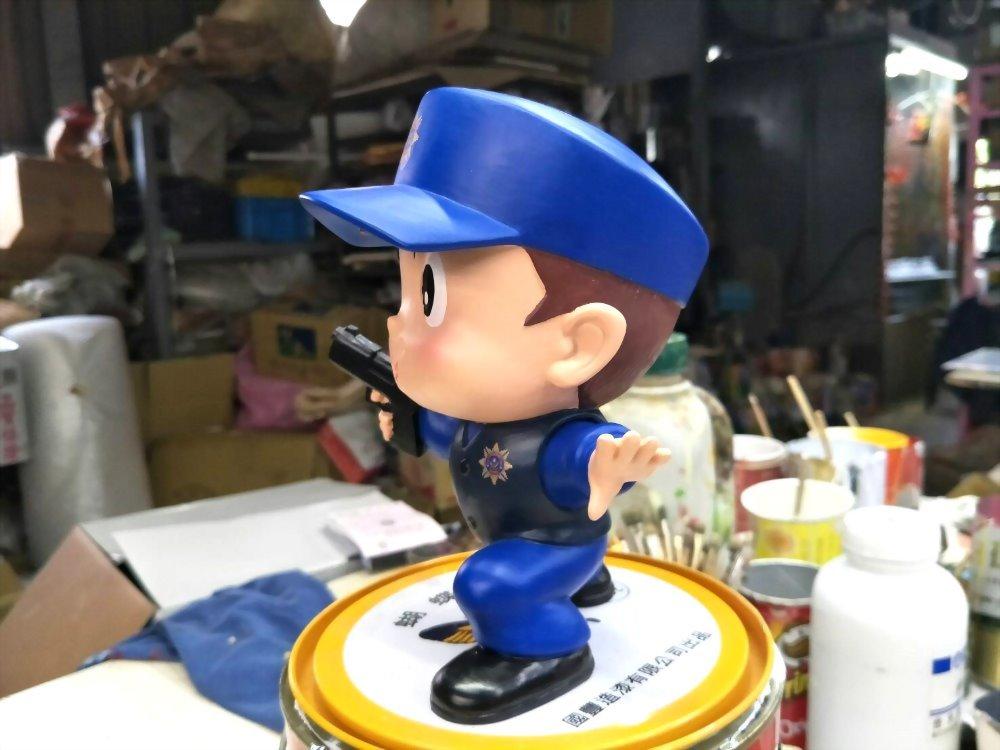 Q Version Puppe - Kriminalpolizei 9