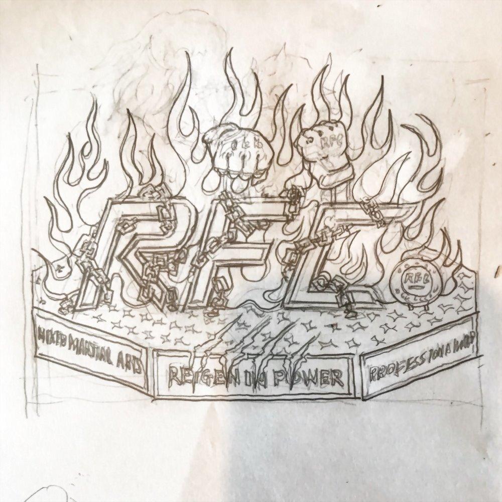 吉祥物設計-RFC綜合格鬥擂台 3