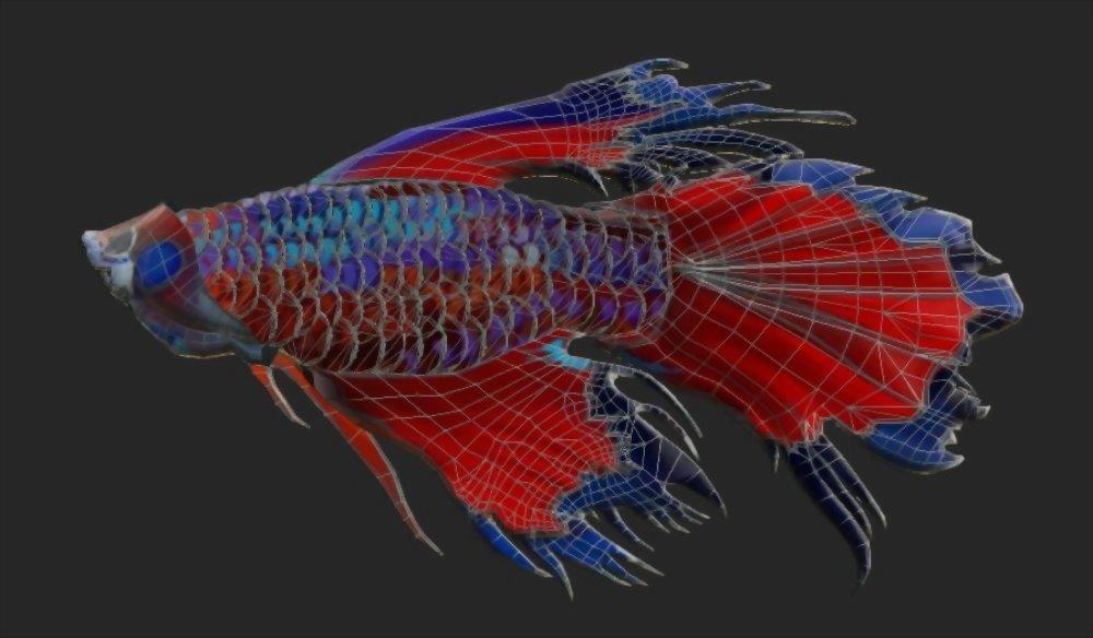 3D Modellierung | Mannhole Covered Betta - Large Installation Art 2