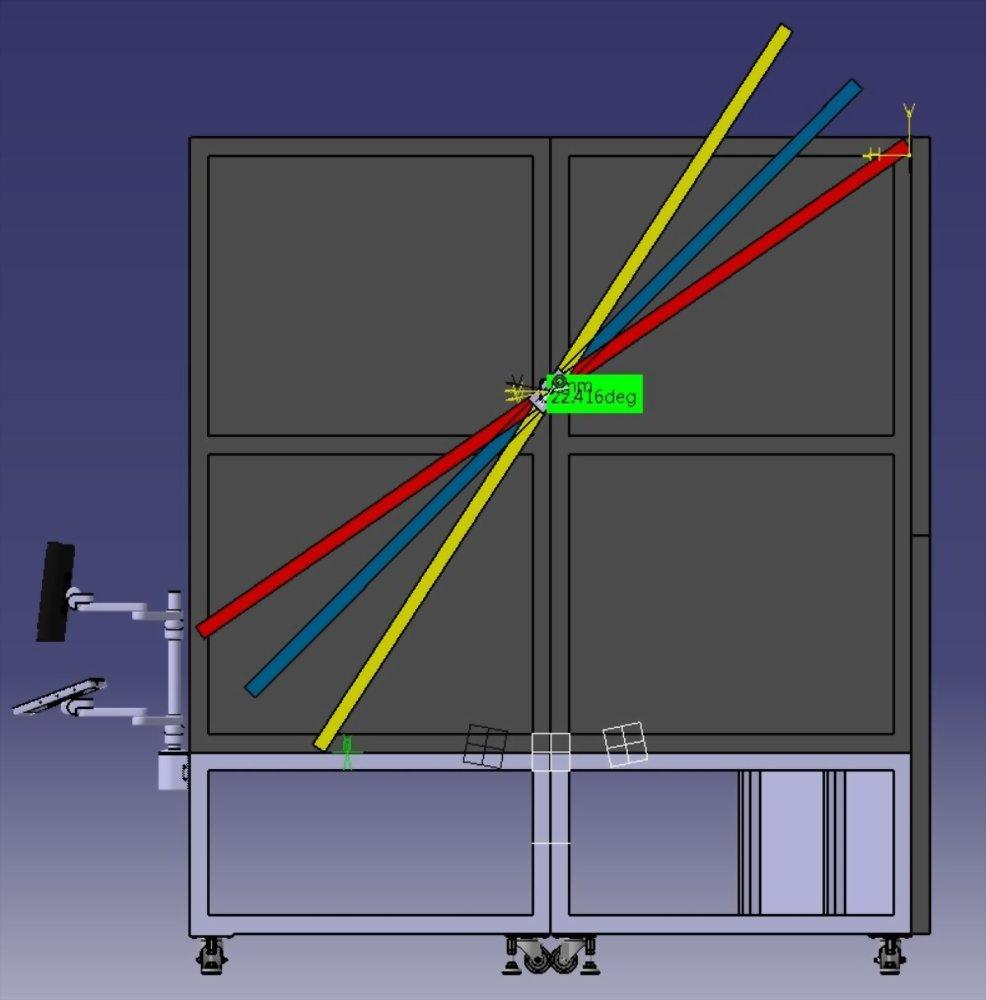 3D 建模 | 巧匠工藝-投影機架結構設計 1