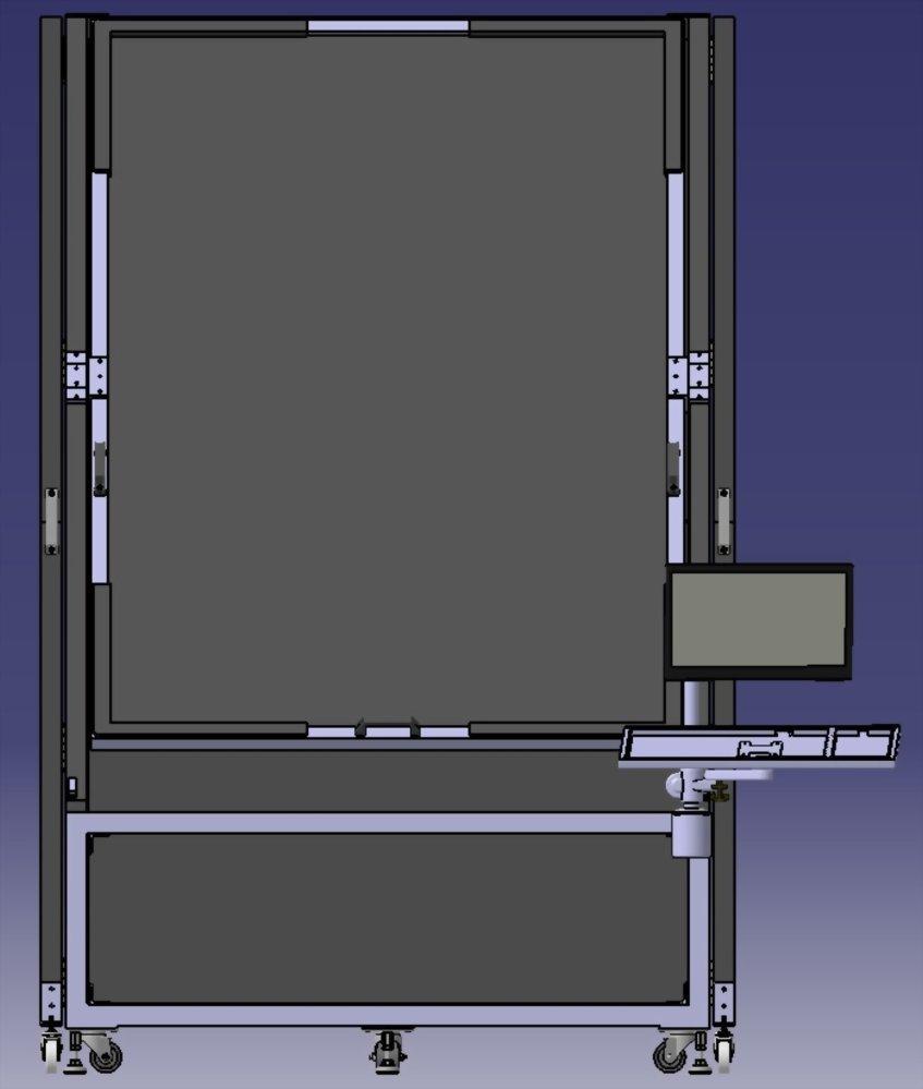 3D 建模 | 巧匠工藝-投影機架結構設計 3