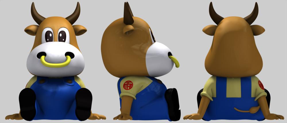 Große Puppe | Handwerkskunst - Fucang Niu Niu 6