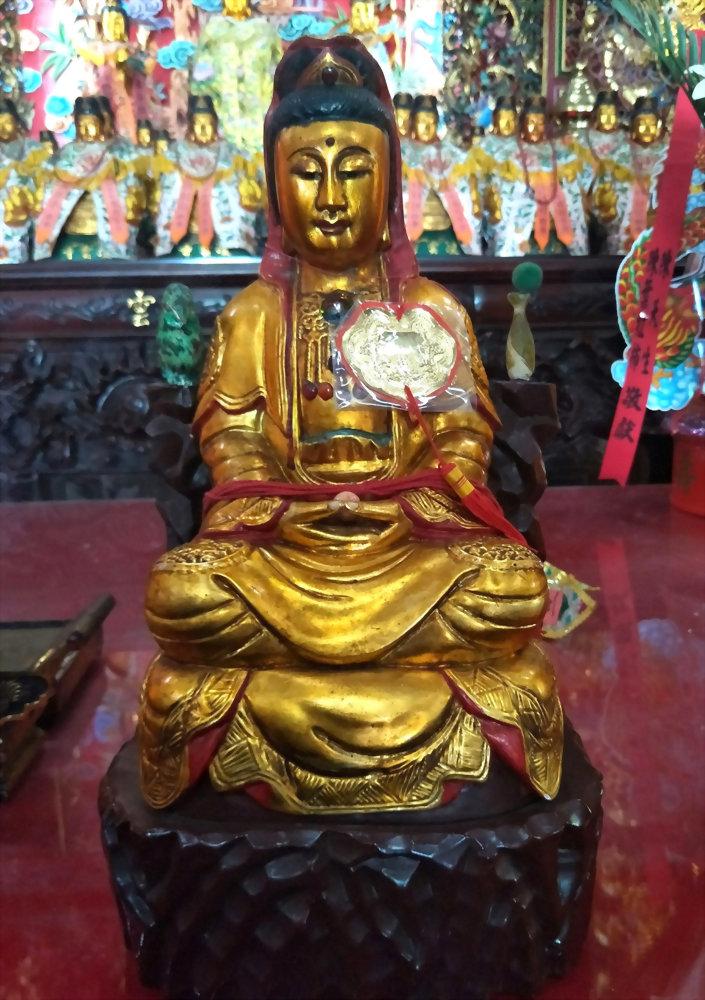솜털 인형 | 장인의 기술 - 관음 부처님 1