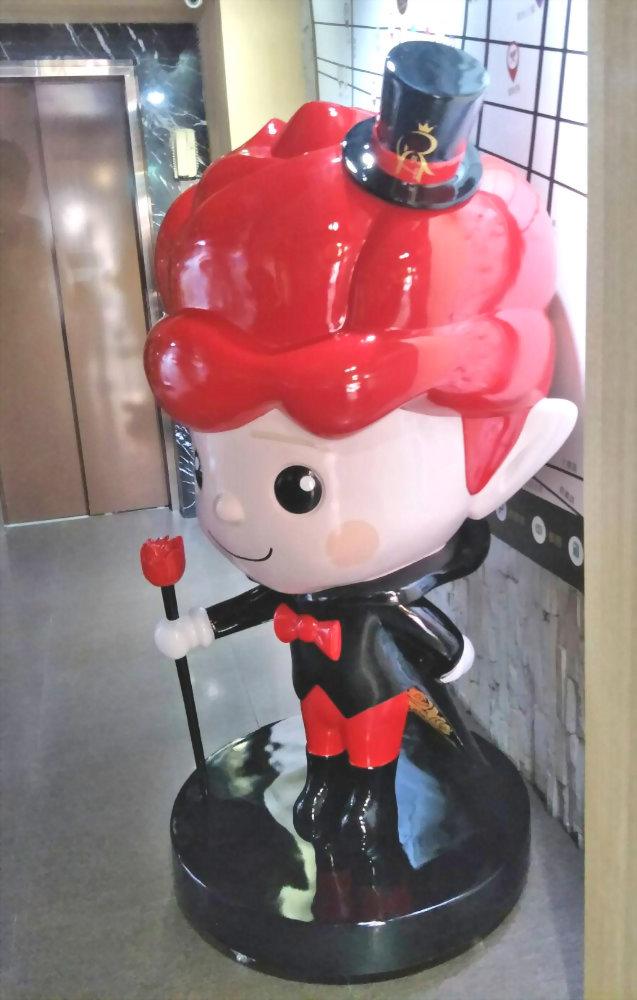 FRP 大型公仔-玫瑰精品旅館 (皇家玫寶) 4