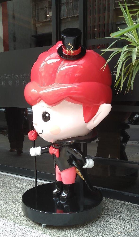 FRP 大型公仔-玫瑰精品旅館 (皇家玫寶) 5
