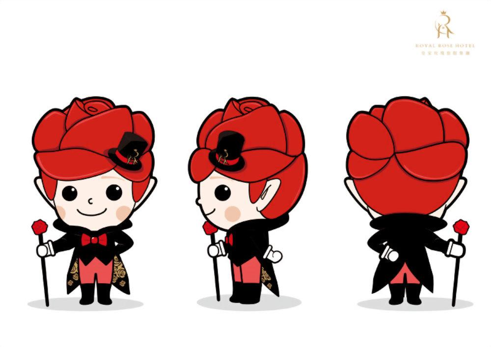 吉祥物設計-皇家玫寶 2