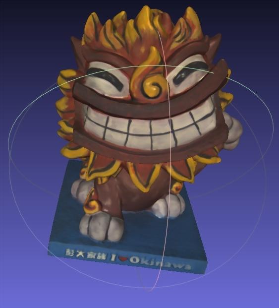吉祥物公仔(3D掃描)-風獅爺 1