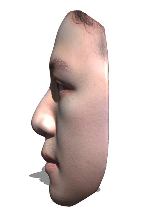 3D人像面具 1